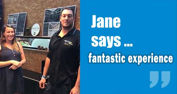 Jane Customer Review from East Sydney
