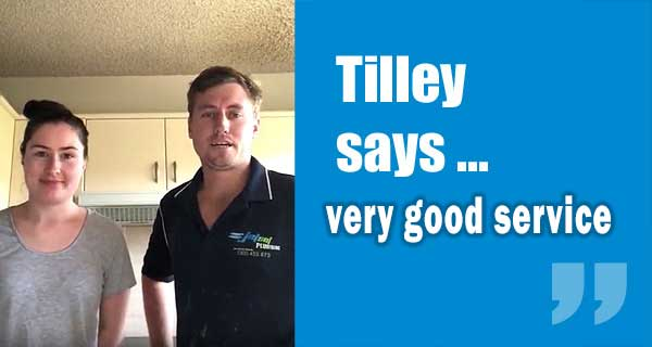 Tilley Customer Review from East Sydney